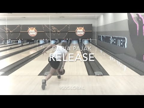 Girl with the highest rev rate on PWBA Daria Pajak release in slow motion